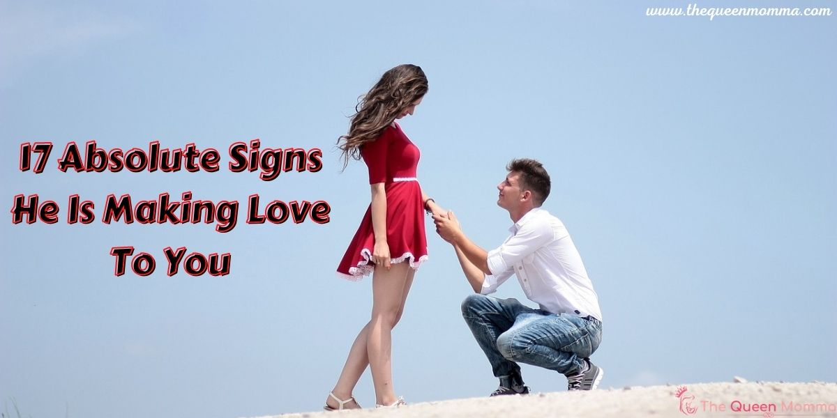 Signs he desires you